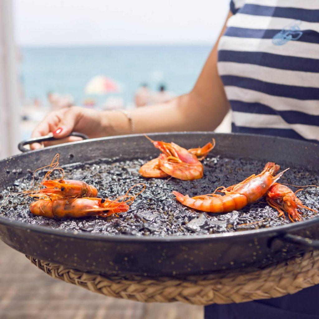 fotografía paella restaurante donzella